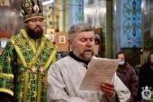В день пам'яті святого Антонія Великого митрополит Никодим очолив служіння Божественної літургії у Свято-Успенському архієрейському соборі Житомира.
