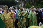 Митрополит Никодим очолив Божественну літургію в день престольного свята одного із храмів у Свято-Анастасіївському монастирі Житомира!