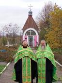 У день пам'яті преподобного Нестора Літописця в с. Маркушах у каплиці на честь святого звершили молебень з акафістом
