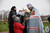 Правлячий архієрей звершив чин освячення накупольного хреста Воздвиженського храму села Юрівка!