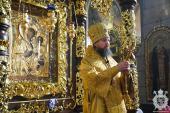 У неділю двадцять четверту після П'ятидесятниці митрополит Никодим звершив Божественну літургію у Спасо-Преображенському кафедральному соборі міста Житомира!