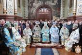 Митрополит Никодим взяв участь у святкуванні ікони Божої Матері «Утамуй мої печалі» в Свято-Георгієвському Городницькому монастирі!