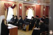 Під головувавнням митрополита Никодима відбулось зібрання благочинних Житомирської єпархії!