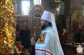 У соборі житомиряни Христосувались із митрополитом Никодимом!
