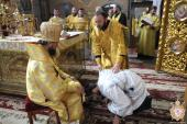 Митрополиче недільне богослужіння із звершенням дияконської хіротонії у Спасо-Преображенському кафедральному соборі!