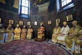 У м'ясопусну неділю митрополит Никодим співслужив Предстоятелю УПЦ за Божественною літургією у Трапезному храмі Києво-Печерської Лаври!