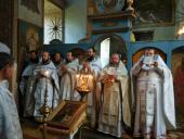 Божественна літургія в Свято–Георгіївському храмі с. Білилівка!