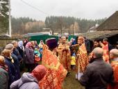 Вірні Богові і Церкві! Соборна Божественна літургія у хатинці в Левкові!