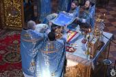 В день Стрітення Господнього митрополит Никодим звершив Божественну літургію у Спасо-Преображенському кафедральному соборі.
