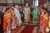 У неділю 21-шу після П'ятидесятниці митрополит Никодим звершив Божественну літургію в Свято-Георгієвському Городницькому монастирі!