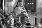 Архієрейське служіння у Свято-Успенському соборі на Подолі!