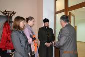 Голова єпархіального Відділу релігійної освіти і катехізації, сім'ї та молоді протоієрей Валентин Мороз взяв участь у зустрічі молоді з мером м.Новограда-Волинського.