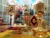 У Свято-Димитрівському храмі смт Гришківців удесяте була звершена нічна новорічна Божественна Літургія