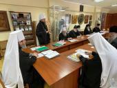 Митрополит Никодим взяв участь у черговому засіданні Комісії по канонізації святих.