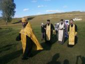 У селі Бистрику було звершено молебень про дарування дощу спраглій землі