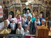 Молебень перед початком нового навчального року звершили у храмі Різдва Пресвятої Богородиці с. Озадівки