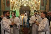 Митрополит Никодим звершив святкову Утреню напередодні свята Богоявлення у Спасо-Преображенському кафедральному соборі!