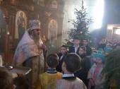 Різдво Христове зустріли молитвою прихожани Свято-Миколаївського храму смт. Попільня!