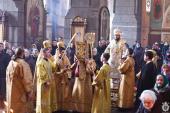 Недільне Богослужіння у кафедральному соборі.