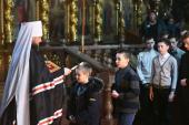 Чин Прощення у спасо-Преображенському кафедральному соборі Житомира.