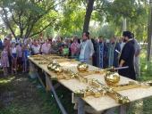 Освячення хрестів в селі Вільшанка!