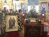 У Свято-Хрестовоздвиженському кафедральному соборі віряни моляться перед чесними мощами мучеників Киприяна та Іустини!