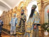 Митрополит Житомирський і Новоград-Волинський Никодим очолив Божественну літургію в Барському жіночому монастирі!