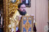 Божественну літургію у Неділю п'ятнадцяту після П'ятидесятниці звершив митрополит Никодим у Спасо-Преображенському кафедральному соборі.