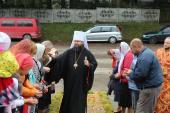 Митрополит Никодим очолив Божественну літургію у Любарському благочинні!