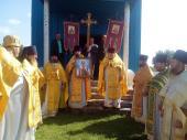 Божественна літургія у храмі святого благовірного князя Олександра Невського села Вільнопілля!