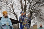 Архієрейське богослужіння із освяченням нових дзвонів у Свято-Різдво-Богородичному храмі с. Озадівка!