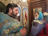 У день Благовіщення Пресвятої Богородиці настоятель храму ікони Божої Матері «Цілителька» протоієрей Роман Бойков молитовно відзначив 21-у річницю хіротонії