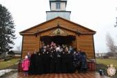 Митрополит Никодим очолив літургію Напередосвячених Дарів у Спасо-Покровському жіночому монастирі!