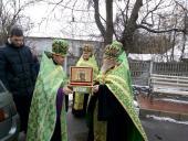 Чесні мощі благовірних Петра та Февронії відвідали Попільнянське благочиння!