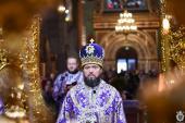 Божественна літургія у кафедральному соборі Житомира в Неділю п'яту Великого посту