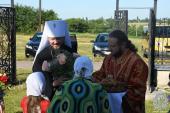 Митрополит Никодим з архіпастирським візитом відвідав Попільнянське благочиння.