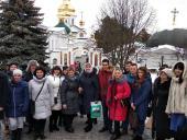 Викладачі та студенти Житомирського технологічного коледжу Київського національного університету будівництва і архітектури відвідали Києво-Печерську Лавру.
