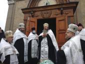 Різдво Твоє, Христе Боже наш, осяяло світ: святкова Літургія у Свято-Миколаївському соборі м. Бердичева!