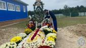 Митрополит Никодим відвідав могилку новопреставленого митрополита Рівненського і Острозького Варфоломія (Ващук).