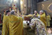 Митрополит Никодим очолив Божественну літургію у кафедральному соборі!