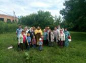 У селах Обухівці та Маркушах зустріли ковчег із часткою мощей Святого Праведного Лазаря Чотириденного