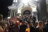 Житомир. Святкове Пасхальне богослужіння у Спасо-Преображенському кафедральному соборі!