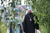 Тетерівка. Митрополиче богослужіння в день престольного свята храму Казанської ікони Божої Матері.
