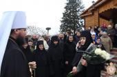 Вільхівський Спасо-Покровський жіночий монастир. Архієрейська літургія!