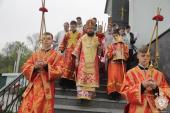 У третій день Пасхи митрополит Никодим очолив Божественну літургію в Успенському архієрейському соборі на Подолі!