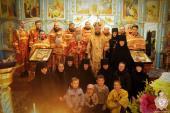 Вільха. Божественна літургія у Спасо-Покровському жіночому монастирі!