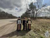 Духовенство Свято-Іаківлівського храму звершили об'їзд міста Житомира із святинями!