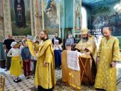 Благочинний Бердичівського округу архімандрит Варфоломій (Бойков) молитовно відзначив День Ангела