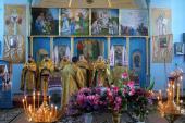 Божественна літургія в селі Лебединці.