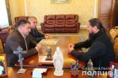 Митрополит Никодим провів зустріч із Начальником Головного управління національної поліції в Житомирській області!